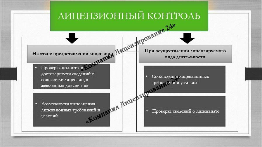 Лицензионный контроль