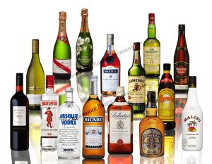 продукция содержащая спирт