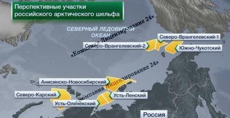 Ограничения Минприроды на выдачу лицензий в Арктических местах