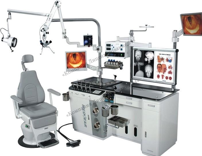 Оборудование для оториноларингологии