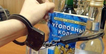 незаконный оборот алкоголя