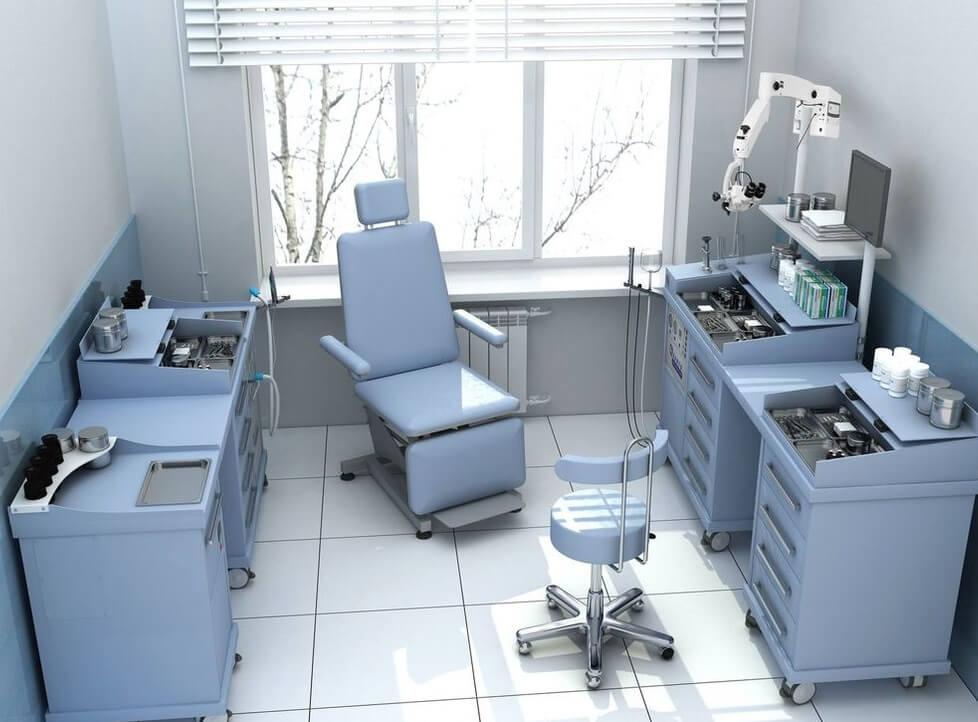 Что такое оборудование процедурного кабинета