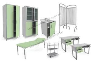 рабочее место врача мебель